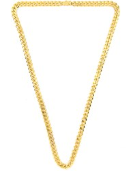 Mister Curve Curb Necklace Gold