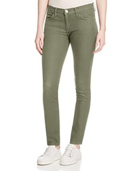 Current Elliott The Stiletto Jeans In Army Green