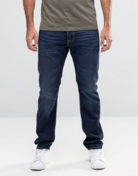 Edwin Ed 55 Tapered Jeans Coal Washed Blue