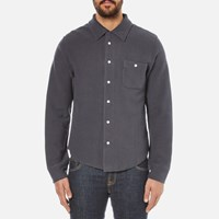 Garbstore Men's Club Shirt Navy Blue