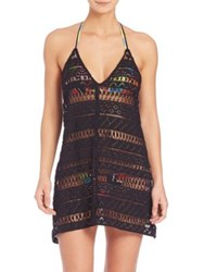 Milly Fly Away Crochet Coverup Dress