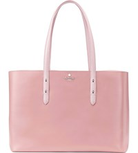 Aspinal Of London Regent Two Tone Leather Tote Bag Pink