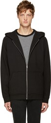 Alexander Wang Black Vintage Fleece Hoodie