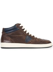 Philippe Model 'Lakers High Vintage' Sneakers Brown