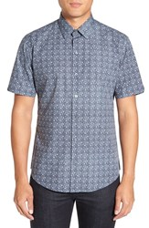 Zachary Prell Men's 'Kocevar' Regular Fit Print Sport Shirt