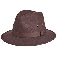 John Lewis Wool Ambassador Hat Brown