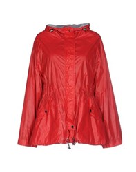Trussardi Jeans Coats And Jackets Jackets Women Red