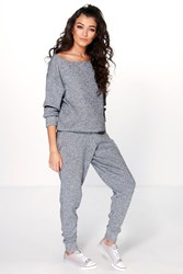 Boutique Faith Heavy Knitted Loungewear Set