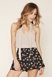 Forever 21 Cami And Neck Tie Set