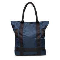 Mhi Maharishi Dark Navy Maha Tote Bag Blue