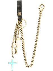 Dsquared2 Cross Pendant Key Chain