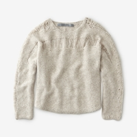 Raquel Allegra Pullover Knit Sweater Oatmeal