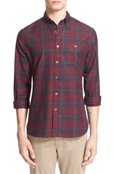Men's Todd Snyder Extra Trim Fit Plaid Shirt