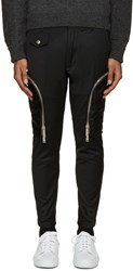 Dsquared Black Twill Cargo Pants