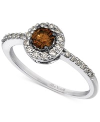 Le Vian Chocolatier Diamond Ring 1 2 Ct. T.W. In 14K White Gold