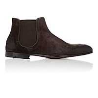 Doucal's Men's Oiled Chelsea Boots Brown