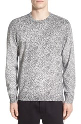 Men's Kenneth Cole New York Print Crewneck Sweater