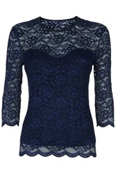 Damsel In A Dress Bern Top Navy