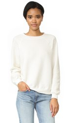 Wildfox Couture Sommers Sweatshirt Alabaster