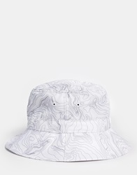 King Apparel Contour Bucket Hat White