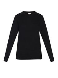 Saint Laurent Boyfriend Fit Cashmere Knit Sweater