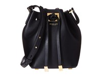 Michael Kors Miranda Small Bucket Black Handbags