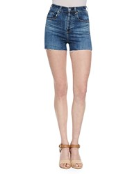Alexa Chung For Ag The Fifi High Waist Shorts Dare