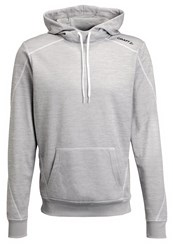 Craft In The Zone Hoodie Grey Melange White