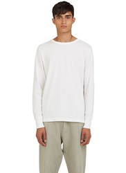 Les Basics Long Sleeved Crew Neck T Shirt White