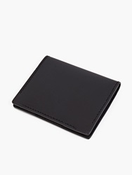 Non Applicable Black Slim Leather Cardholder