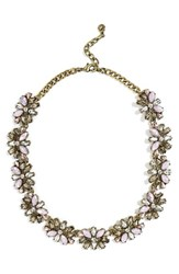 Baublebar Women's Alouette Crystal Collar Necklace Pink