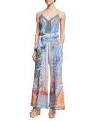 Camilla Embellished Wide Leg Jumpsuit Realm Conc