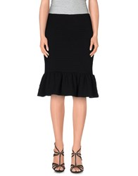 Opening Ceremony Skirts Knee Length Skirts Women Black