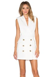 Endless Rose Button Front Dress White