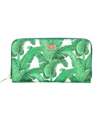 Dolce And Gabbana 'Dauphine' Wallet Green