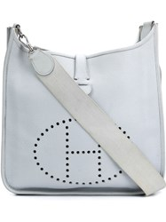 Herma S Vintage 'Evelyne Tpm' Crossbody Bag White