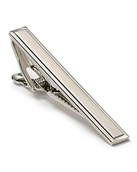 The Men's Store At Bloomingdale's Brushed Tie Bar Silver