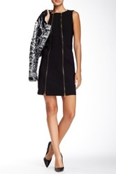 Insight Zip Shift Dress Black