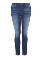 Hallhuber Basic Skinny Jeans Denim Faded