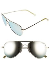 Polaroid Men's Eyewear 6012 N 56Mm Polarized Aviator Sunglasses