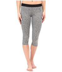 Hurley Dri Fit Crop Leggings Heather Grey Women's Workout Gray