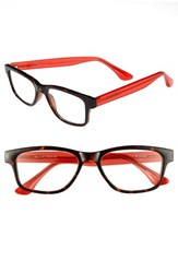 Women's Isaac Mizrahi New York 50Mm Rectangular Reading Glasses