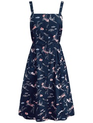 Seasalt Bethesda Dress Bathing Beauties Squid Ink