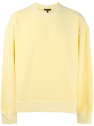 Yeezy Season 3 Oversized Sweatshirt Yellow Orange