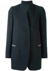 Brunello Cucinelli Shawl Collar Coat Grey