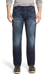Men's True Religion Brand Jeans 'Ricky' Relaxed Straight Fit Jeans City Highlight