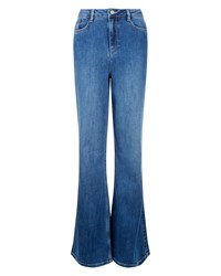 Jaeger High Rise Wide Leg Jeans Blue