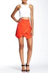 Style Stalker Top Down Skirt Red