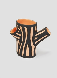 Tree Trunk Vase Orange Couverture And The Garbstore