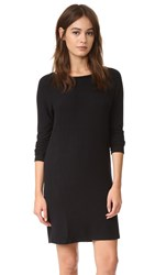 Velvet Katya Cozy Jersey Dress Black